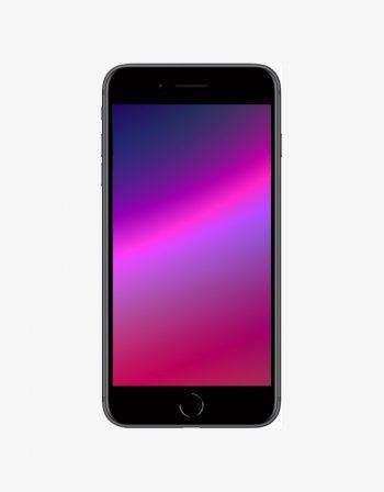 Apple iPhone 8, black.