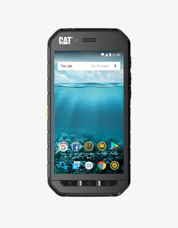 CAT S41, front, black.