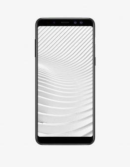 A Samsung smartphone, Samsung Galaxy A8 2018.