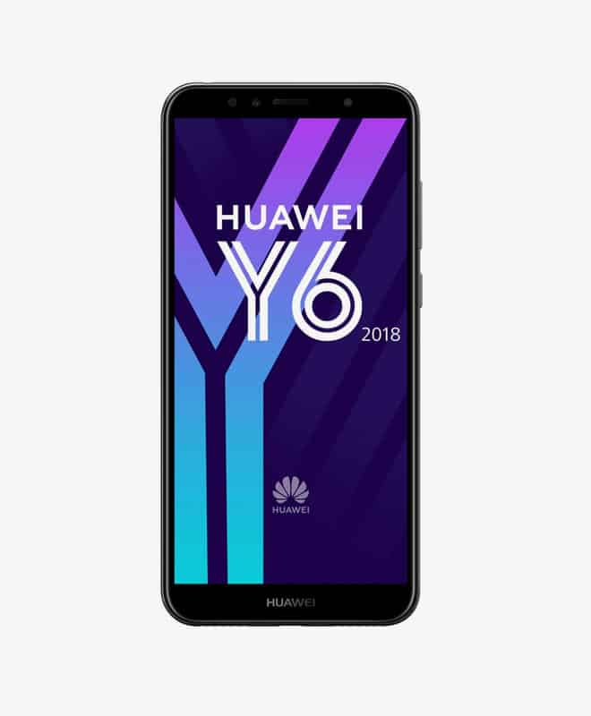 huawei-y6-black-front