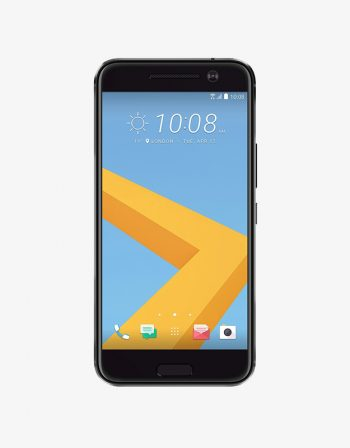 An HTC smartphone, the HTC 10, black