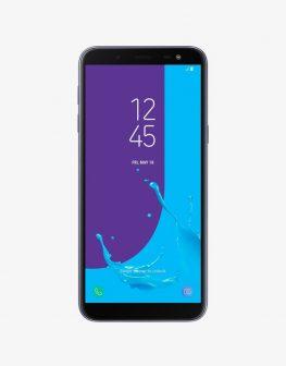 Front image of Samsung J6 , black