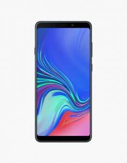 Samsung Galaxy A9 (2018) black.