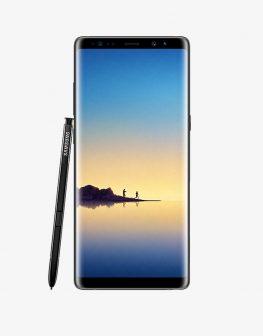 Samsung Galaxy Note 8 Dual Sim with stylus.