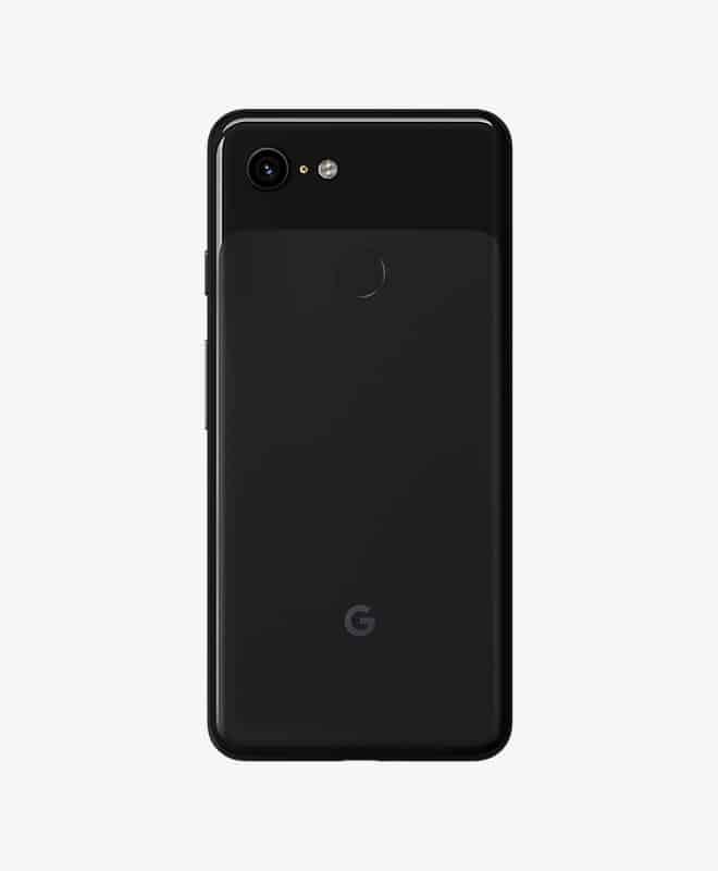google-pixel-3-black-back