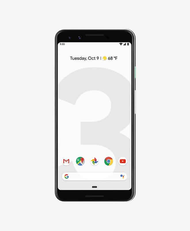 google-pixel-3-white-front