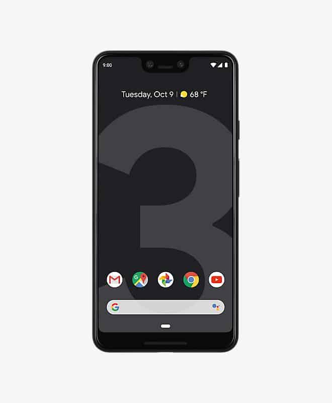 google-pixel-3-xl-black-front