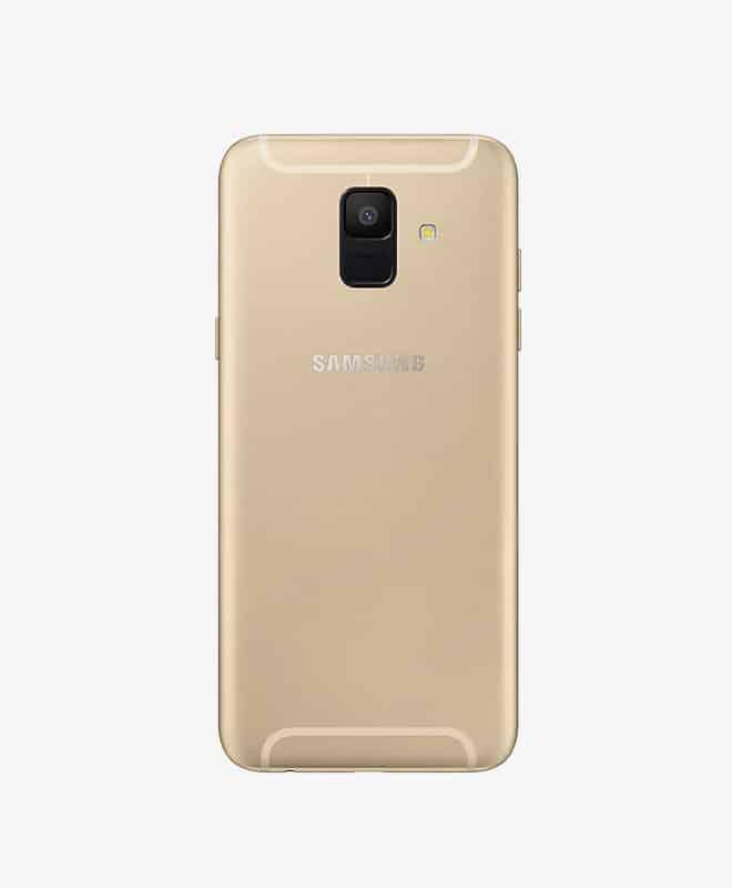 samsung-a6-gold-back