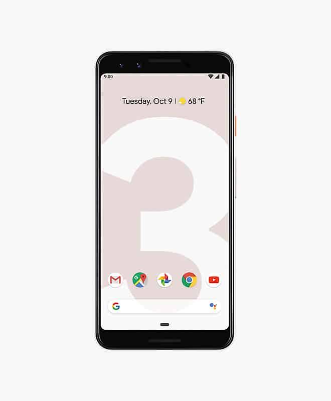 google-pixel-3-pink-front