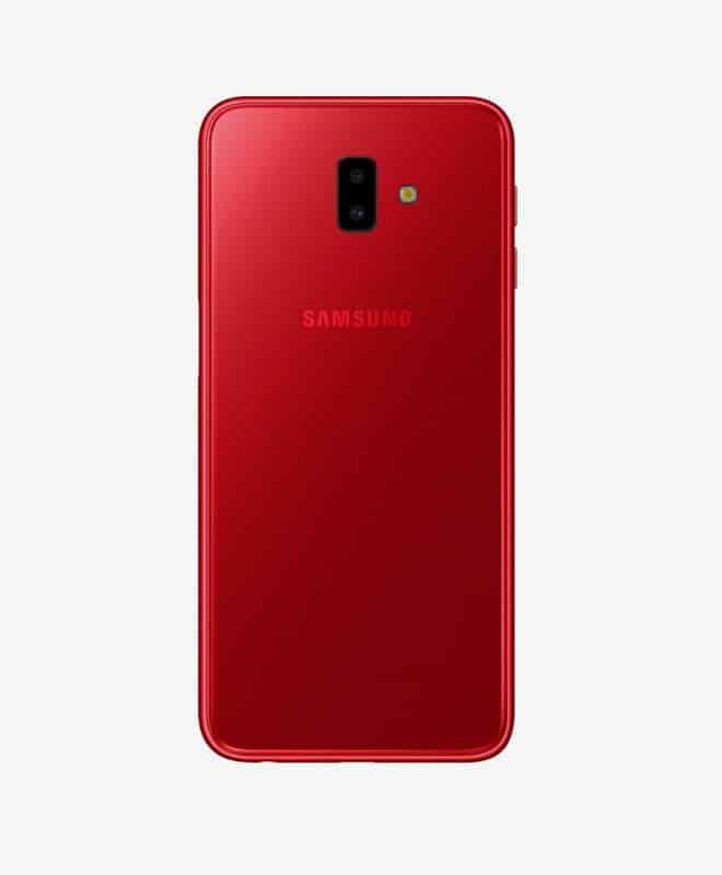samsung-galaxy-J6-plus-red-back