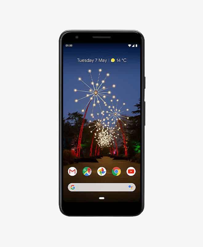 google-pixel-3a-black-front