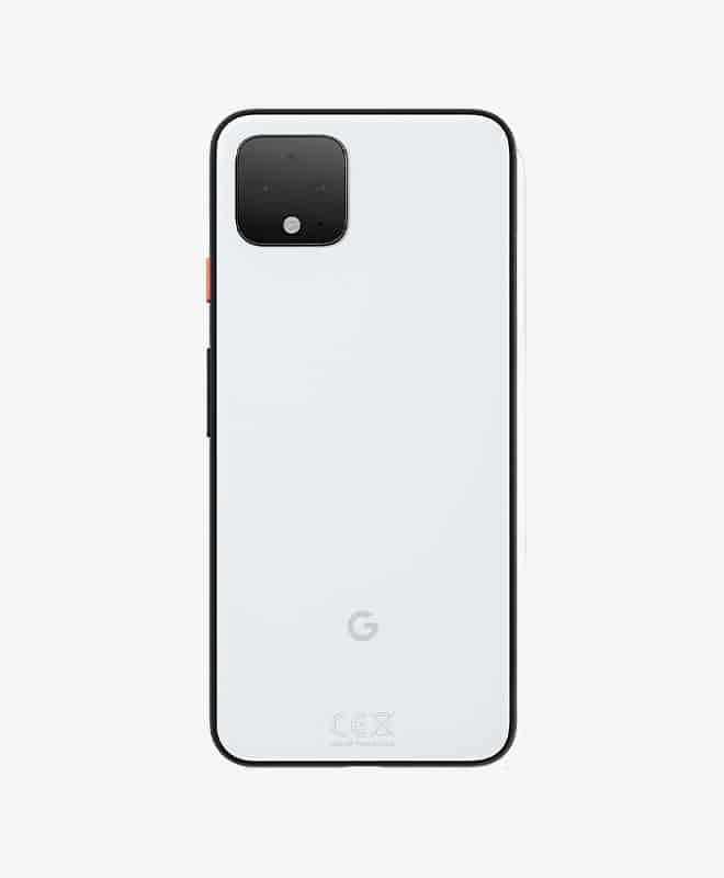 google-pixel-4-white-back