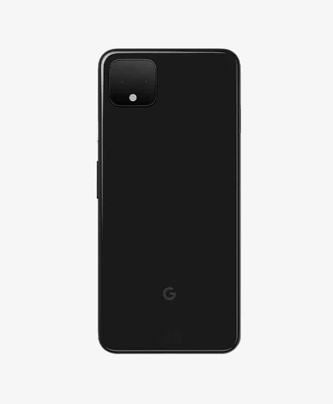 google-pixel-4xl-black-back
