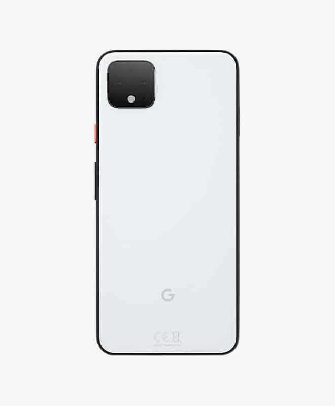 google-pixel-4xl-white-back