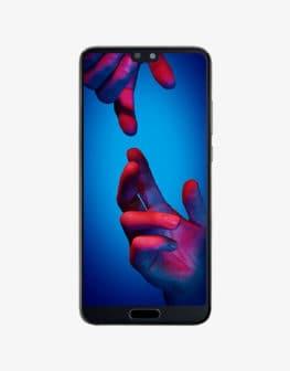 Huawei P20 Black Front