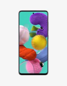 Samsung Galaxy a51 black front