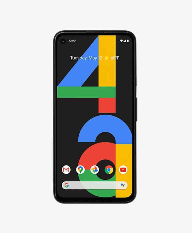 google-pixel-4a-black-front